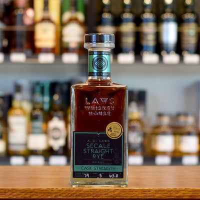 A.D. Laws Single Barrel Secale Rye 63.8%