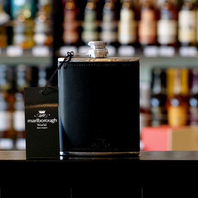 Black 8oz Hip Flask