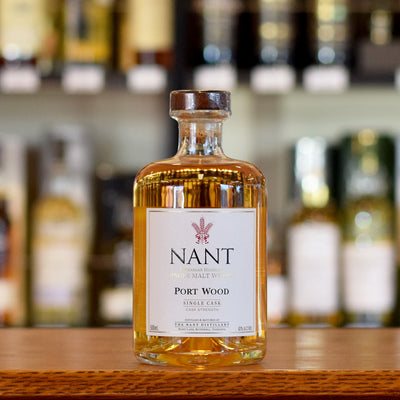 Nant 'Port Wood' Single Cask 63% 500ml