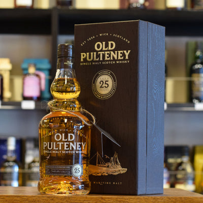 Old Pulteney 25 years old 46%