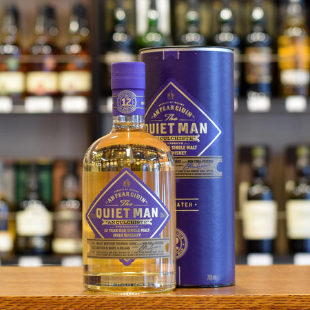 The Quiet Man Single Malt 12 years old 46%