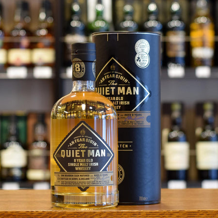 The Quiet Man Single Malt 8 years old 40%