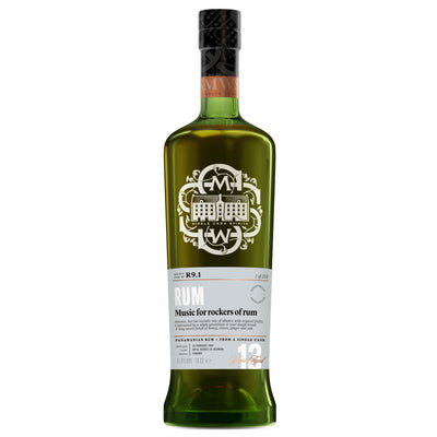SMWS R9.1 'Music for the hard rockers of rum' 2004 / 13 years old 61.8%