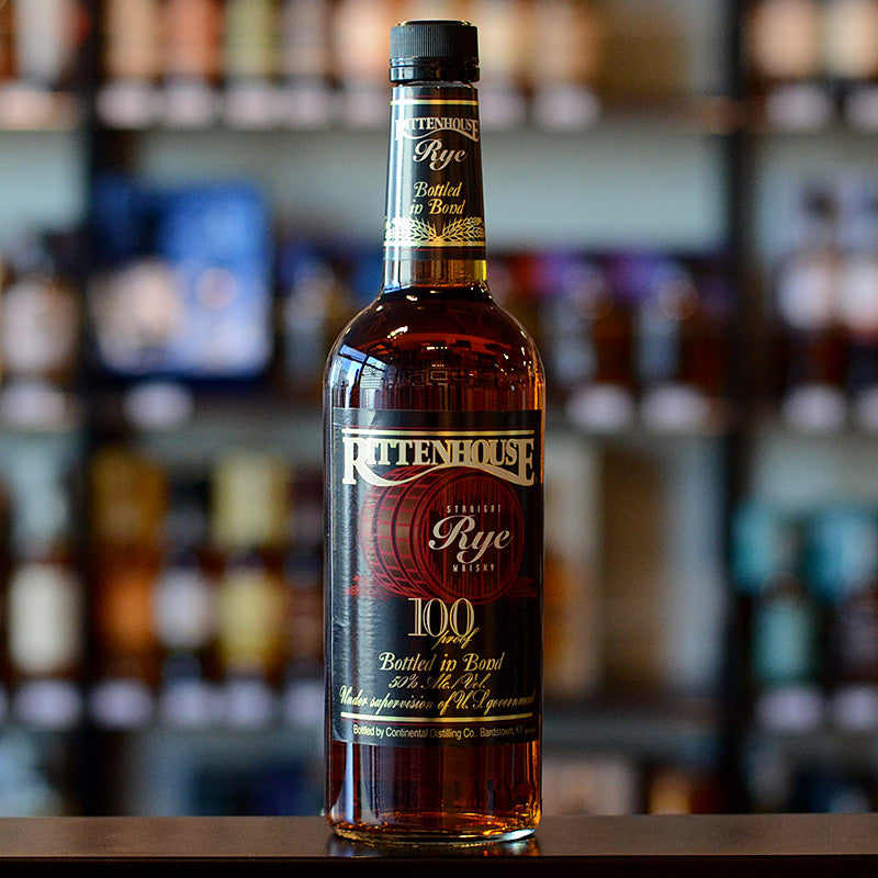 Rittenhouse Rye 100 Proof 750ml 50%
