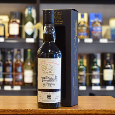 Ben Nevis 'Single Malts of Scotland' 1996 / 22 years old 55.3%