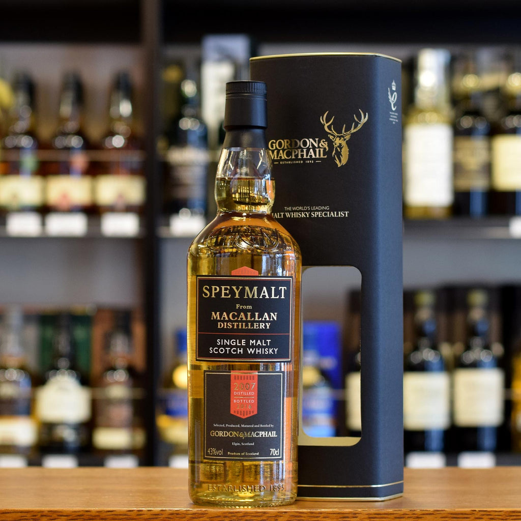 Speymalt from Macallan 'Gordon & MacPhail' 2007 / 2016 43%