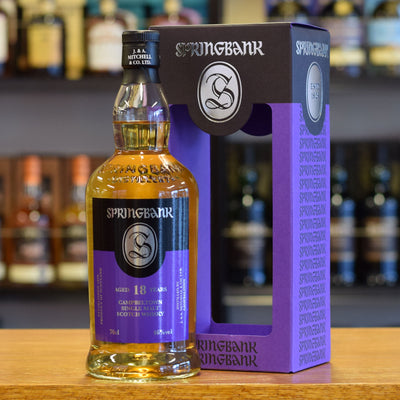 Springbank 18 years old 2020 Release 46%