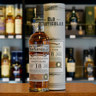 Springbank 'Old Particular' 1996 / 18 years old 48.4%