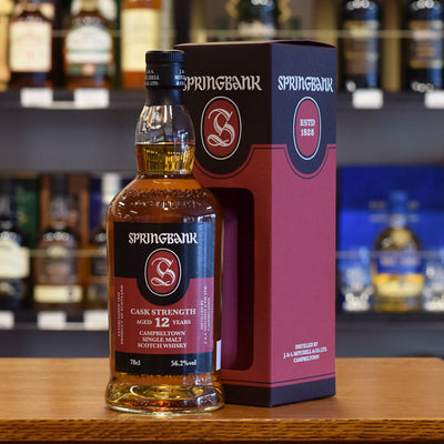 Springbank 12 years old Cask Strength 56.2%