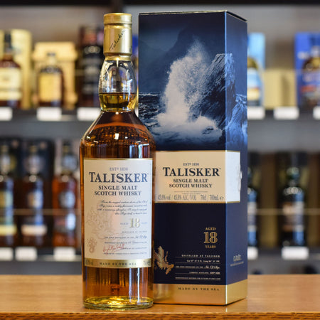 Talisker 18 years old 45.8%