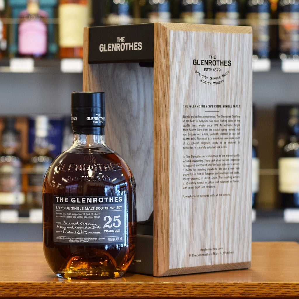 Glenrothes 25 years old 43%