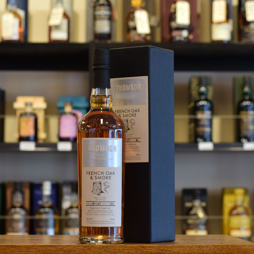 Thomson 'French Oak & Smoke' Single Cask 46%