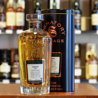 Tormore 'Signatory' 1988 / 28 years old 49.7%