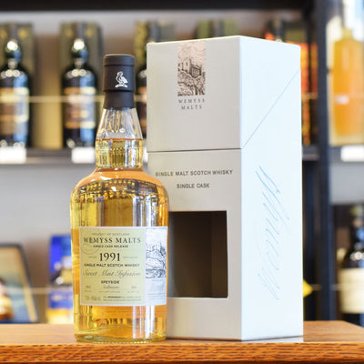 Wemyss 'Sweet Mint Infusion' (Aultmore) 1991 / 2013 46%