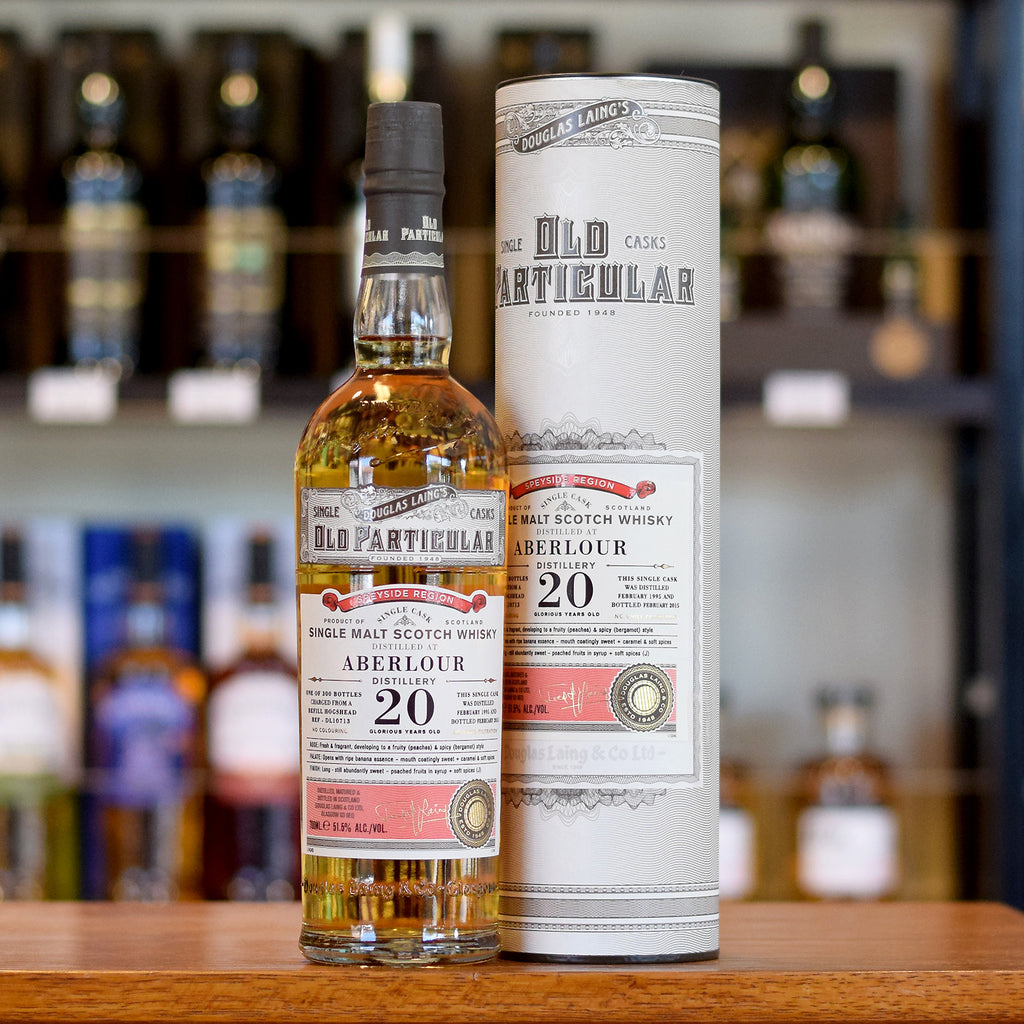 Aberlour 'Old Particular' 1995 / 20 years old 51.5%
