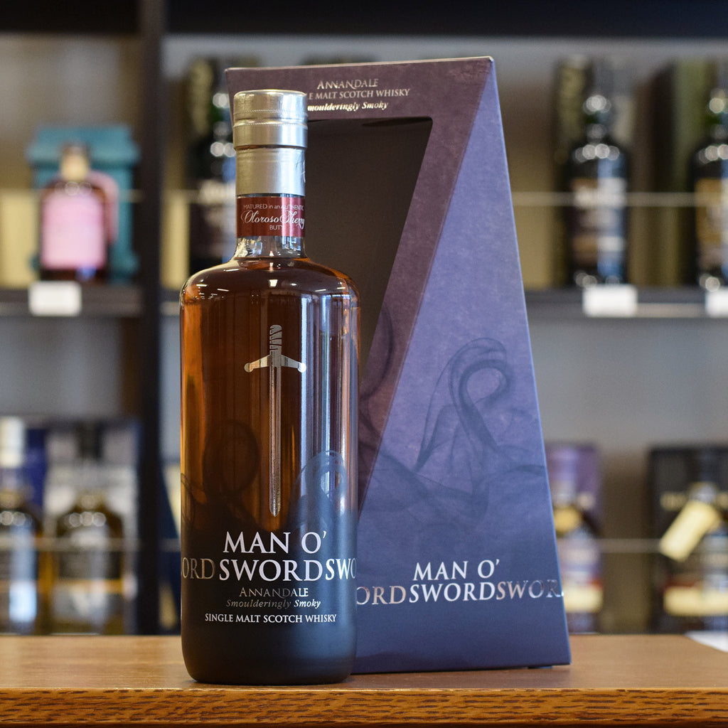 Annandale 'Man o'Sword' 2015 Release Sherry Finish 58.4%