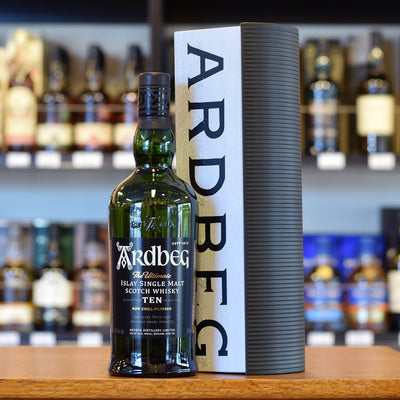 Ardbeg 10 years old 'Warehouse' Gift Pack 46%