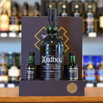 Ardbeg 10 years old 'Exploration' pack 46%