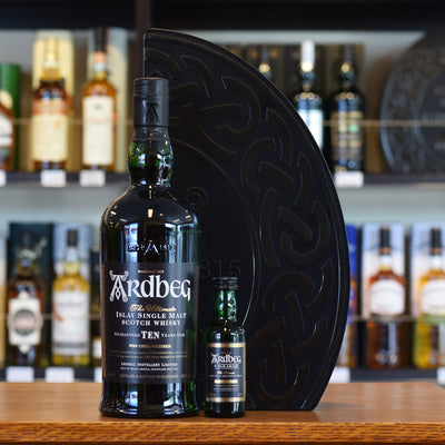 Ardbeg 'Quadrant' 10 years old with Uigeadail mini