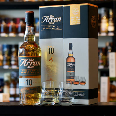 Arran 10 years old Gift Pack 46%