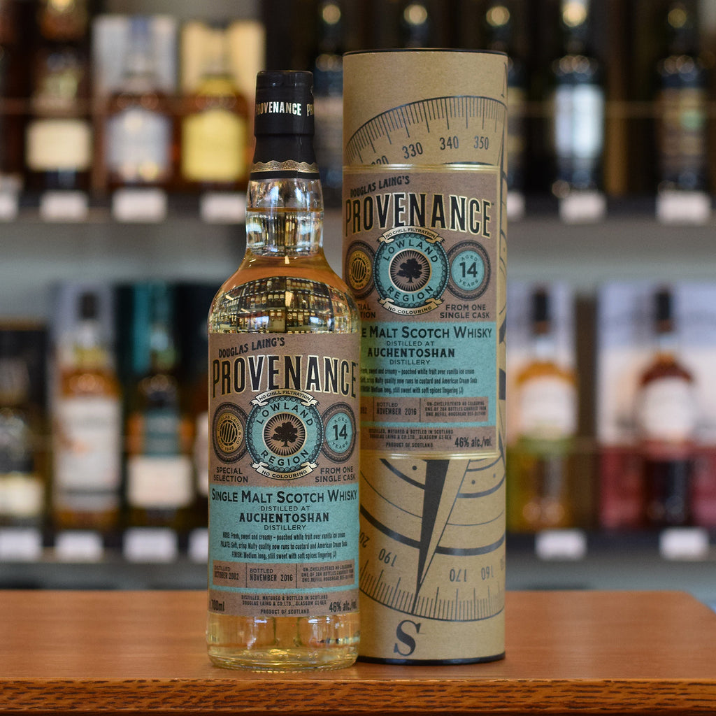 Auchentoshan 'Provenance' 2002 / 14 years old 46%