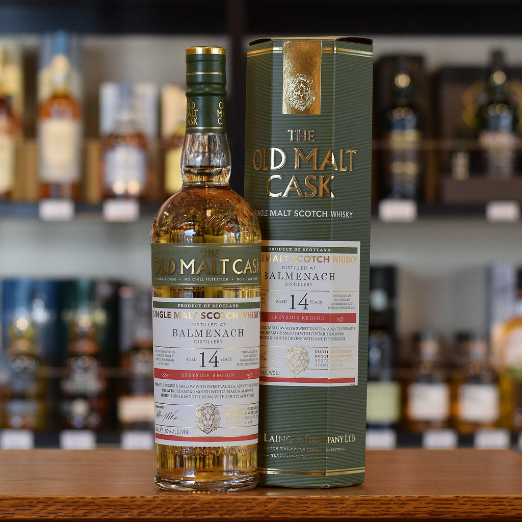 Balmenach 'Old Malt Cask' 2001 / 14 years old 50%