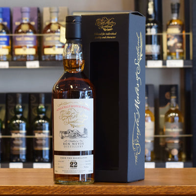 Ben Nevis 'Single Malts of Scotland' 1997 / 22 years old 58.4%