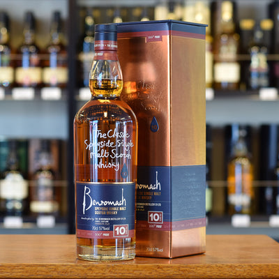 Benromach 10 years old 100 proof 57%
