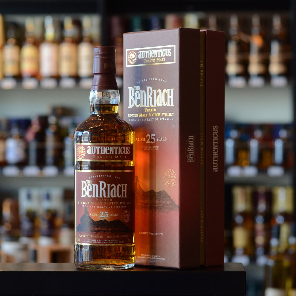 BenRiach 'Authenticus' 25 years old 46%