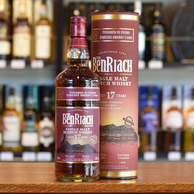 BenRiach 'Pedro Ximenez Finish' 17 years old 46%