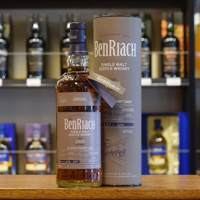 BenRiach 2005 / 12 years old #5014 58.1%