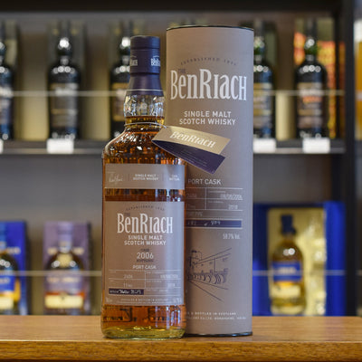 BenRiach 2006 / 11 years old #2406 58.7%