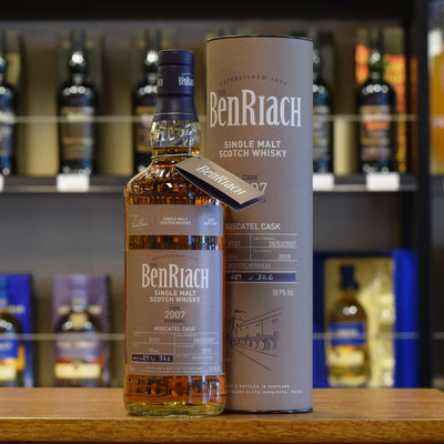 BenRiach 2007 / 10 years old #8737 58.9%