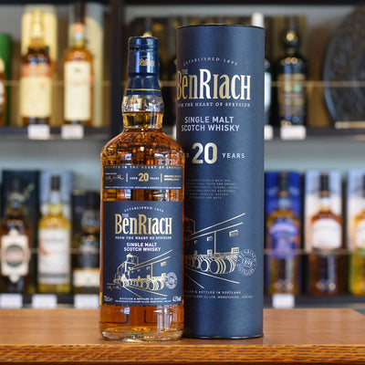 BenRiach 20 years old 43%