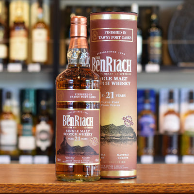 BenRiach 'Tawny Port Finish' 21 years old 46%