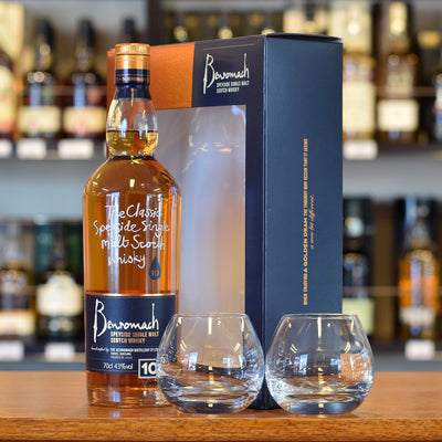 Benromach 10 years old gift pack 43%