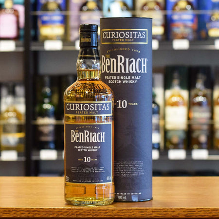 BenRiach 'Curiositas' 10 years old peated 46%