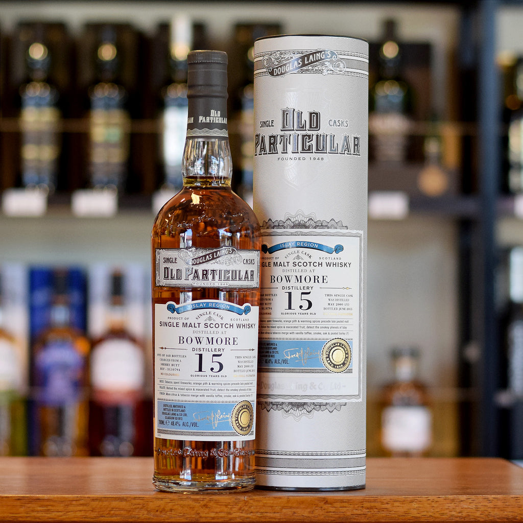 Bowmore 'Old Particular' 2000 / 15 years old 48.4%