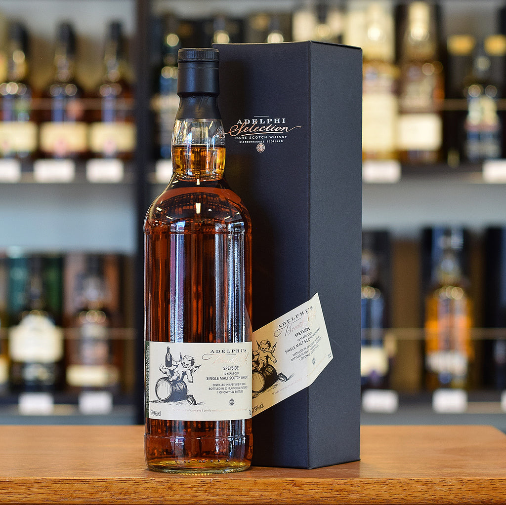 Adelphi 'Breath of Speyside' 2006 / 10 years old 57.9%