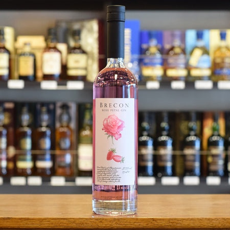 Brecon Rose Petal Gin from Penderyn Distillery 37.5%
