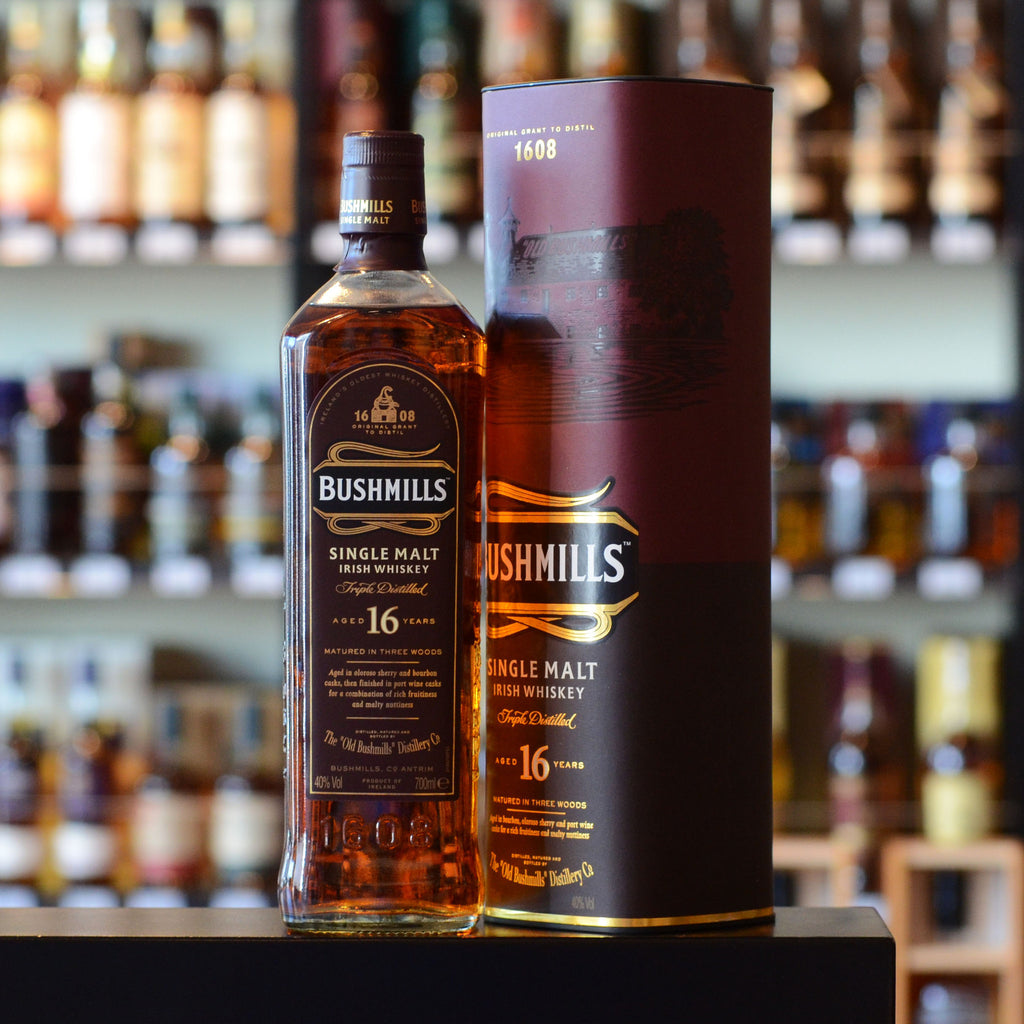 Bushmills Malt 16 years old Triple Wood 40%
