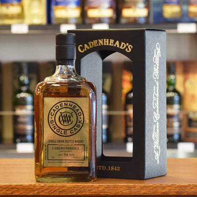 Cameronbridge 'Cadenhead' 1984 / 34 years old 52.8%