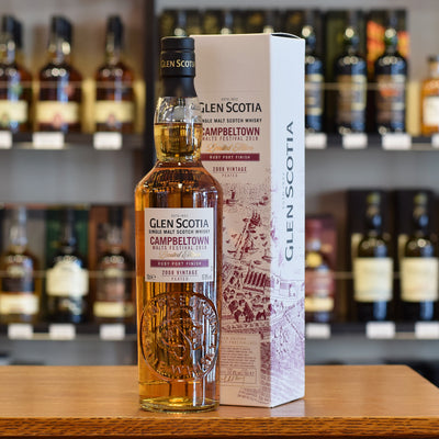 Glen Scotia Scotch Whisky Festival Release 2018 57.8%