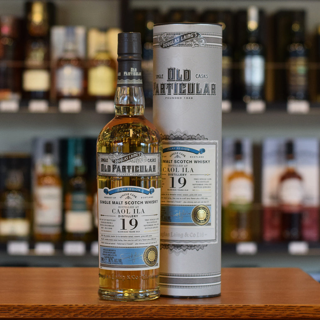 Caol Ila 'Old Particular' 1996 / 19 years old 50.7%