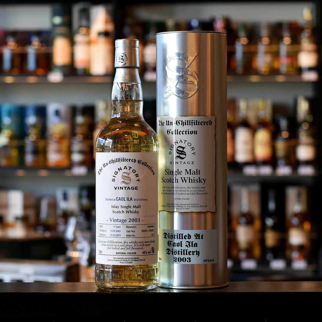 Caol Ila 'Signatory' 2003 / 11 years old UCF 46%