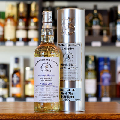 Caol Ila 'Signatory' 2007 / 8 years old UCF 46%