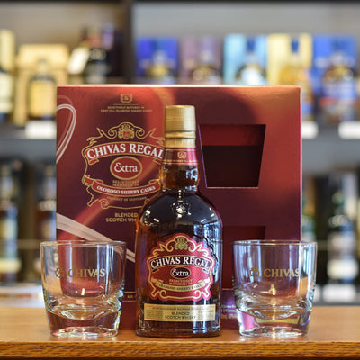 Chivas Regal 'Extra' Gift Pack 40%