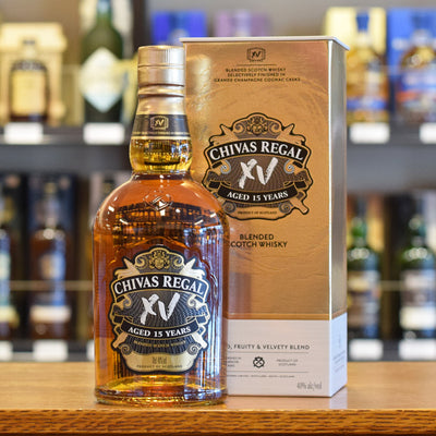 Chivas Regal XV 15 years old 40%