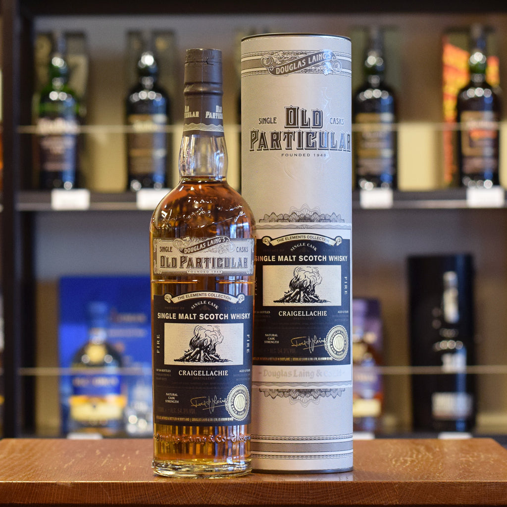 Craigellachie 'Old Particular - The Elements' 2006 / 12 years old 54.3%