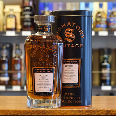 Deanston 'Signatory' 2008 / 10 years old 67.7%